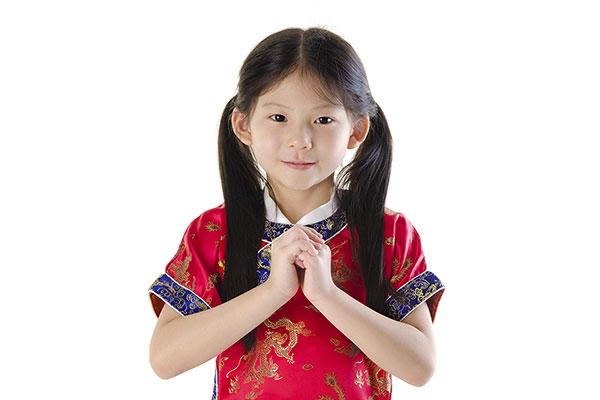 中国の挨拶のジェスチャー