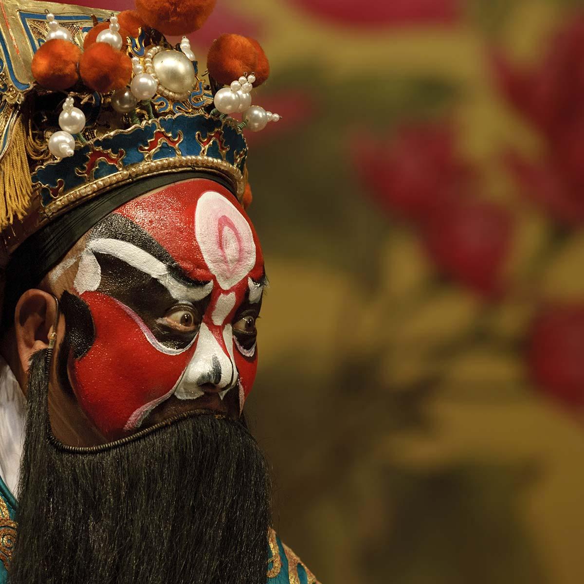 京劇の隈取