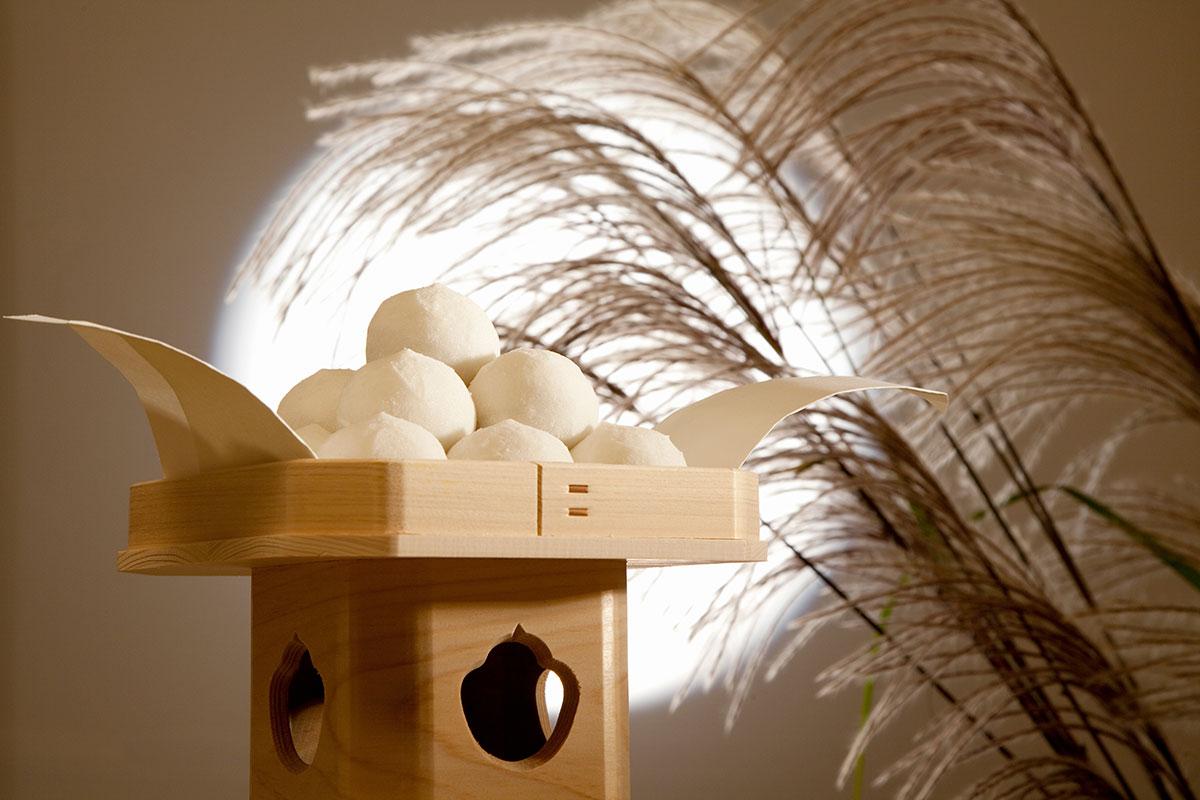 日本の中秋のお月見