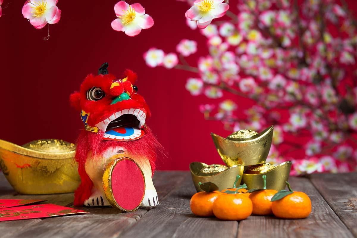 春節-年(年獣)