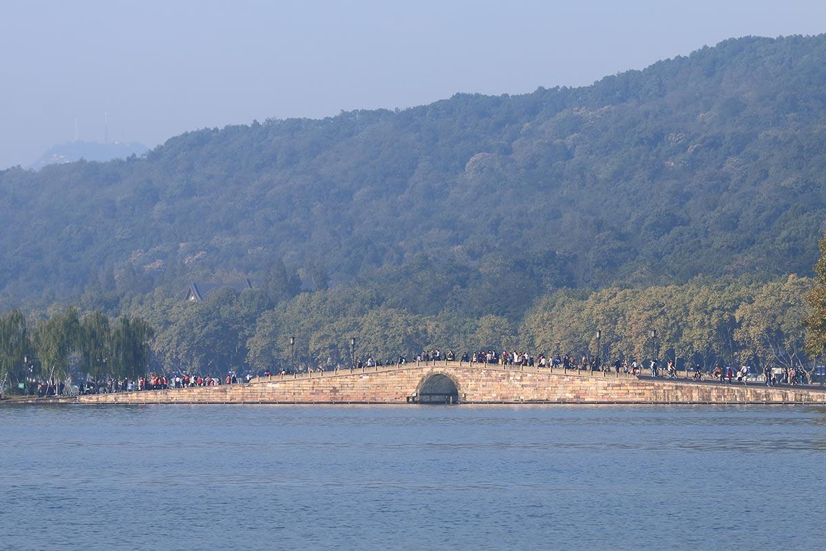 杭州西湖の断橋
