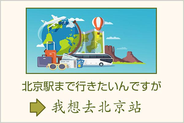 旅行で使う中国語