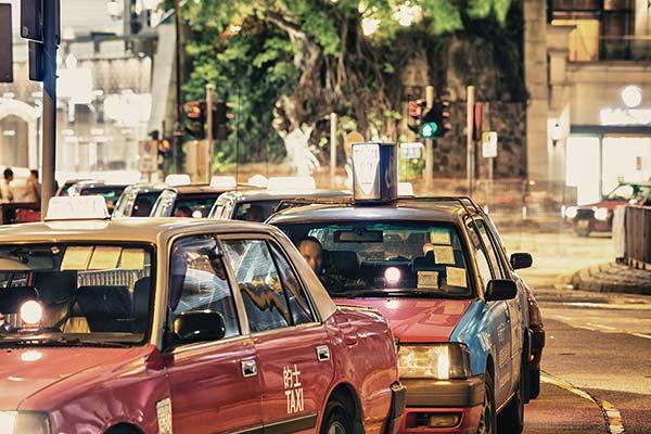 中国語会話-タクシー