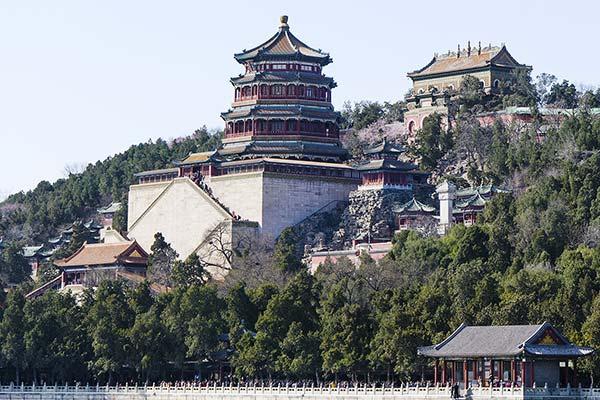 中国語会話-頤和園