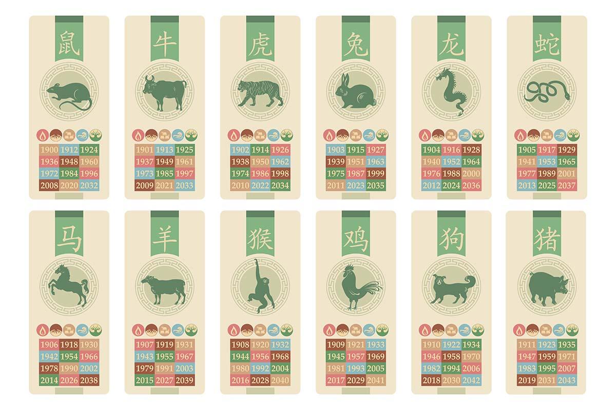 干支・十二支・十干 『違いや歴史』【亥は日本では猪、中国では豚】