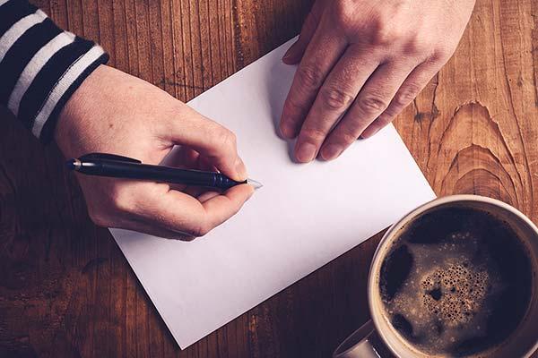 中国語の手紙の書き方と例文集