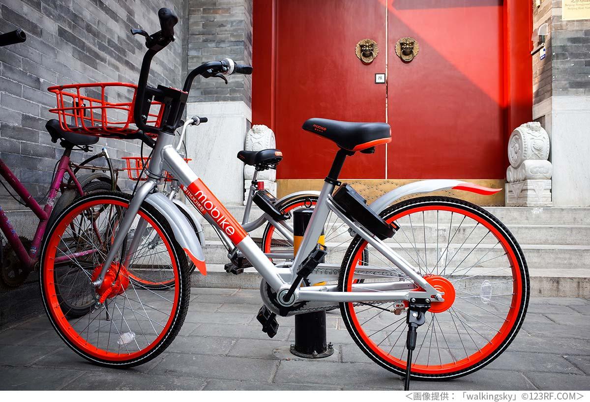 中国の一般的なシェア自転車
